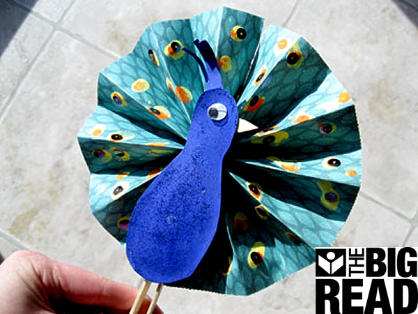 Peacock Brought To You By The Big Read Is A Program Of National Endowment For Arts In Partnership With Midwest