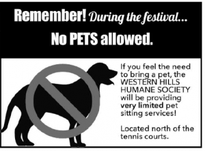 Give your Pet a break!