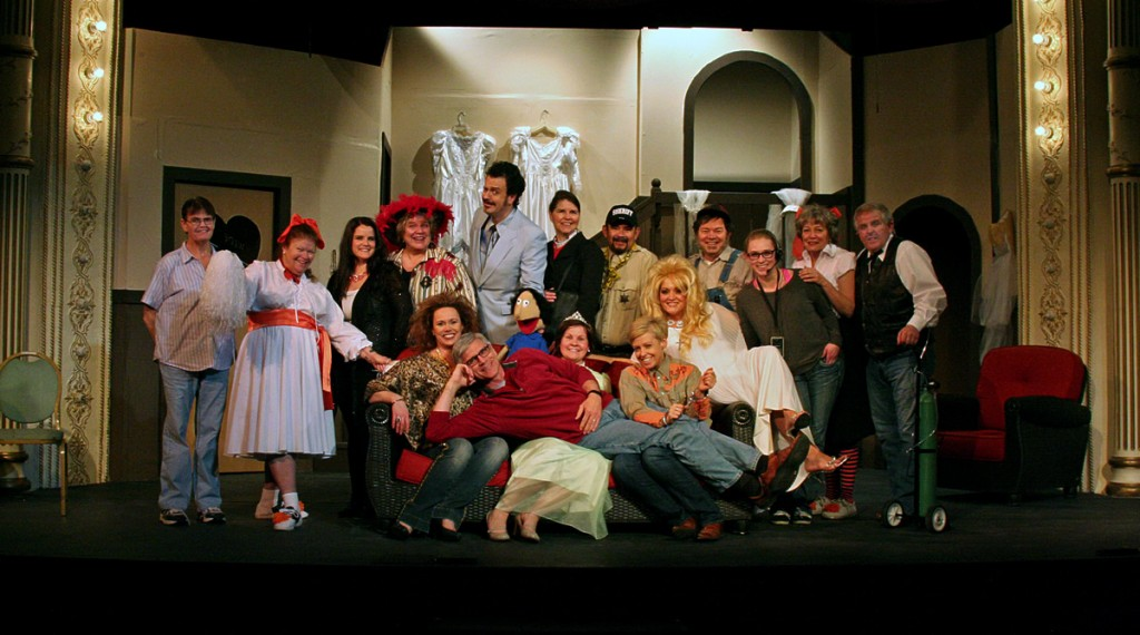 "Cast and crew of ""Last Round-Up of the Guacamole Queens."""