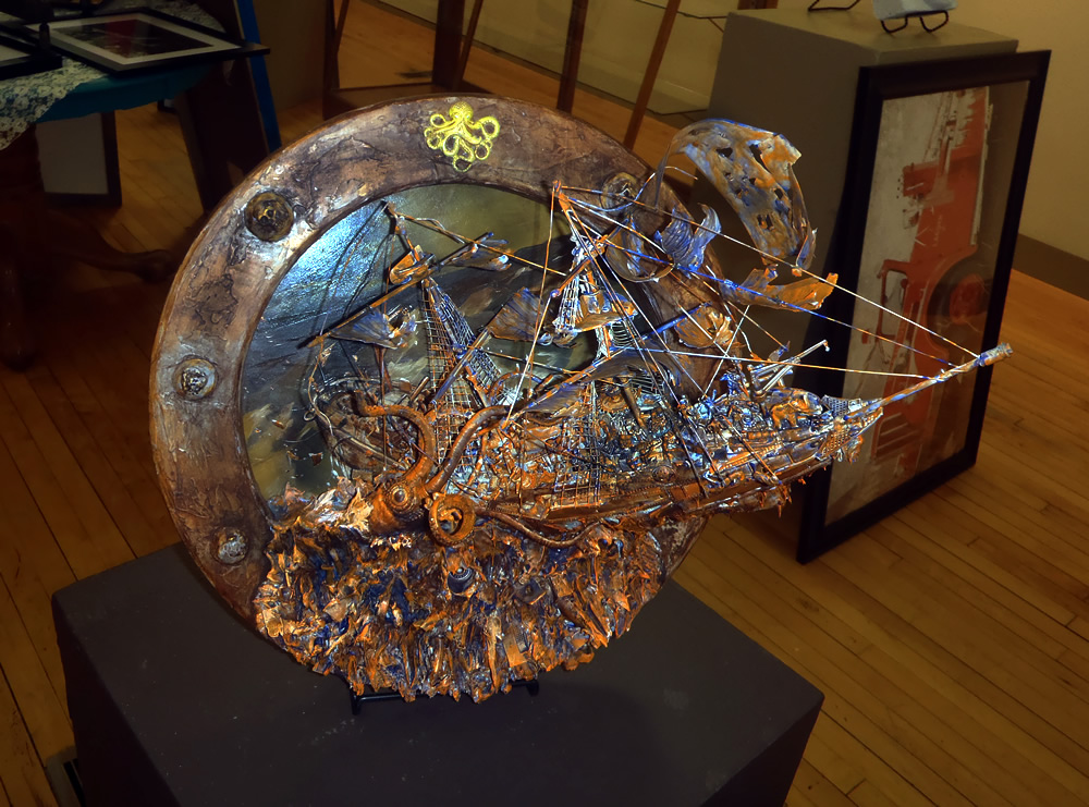 """""""Untitled"""" assemblage by Steve Barba"""