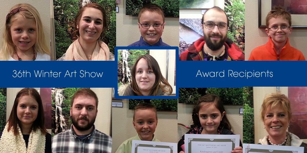 Here are the artists that received awards (that were in attendence).