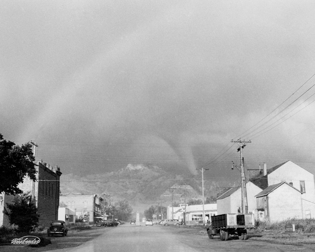 Tornado over Lookout Mountain in Spearfish.