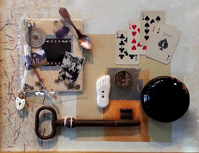 piece by piece assemblage art exhibit runs may 8 30 matthews