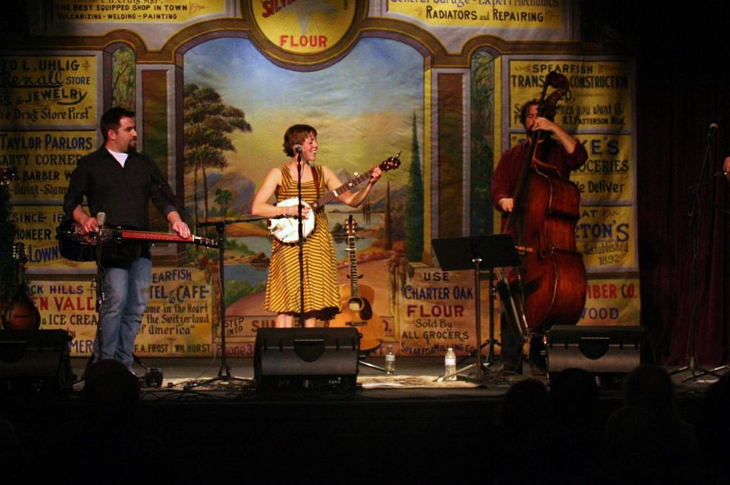 Jami Lynn during April 10 album release concert at The Matthews.