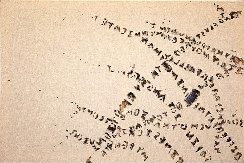 """Embers"" by Ethan Engel, 36""w x 24""h."