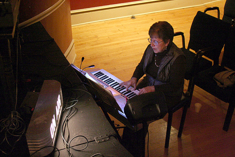 Pam Baum, piano accompanist
