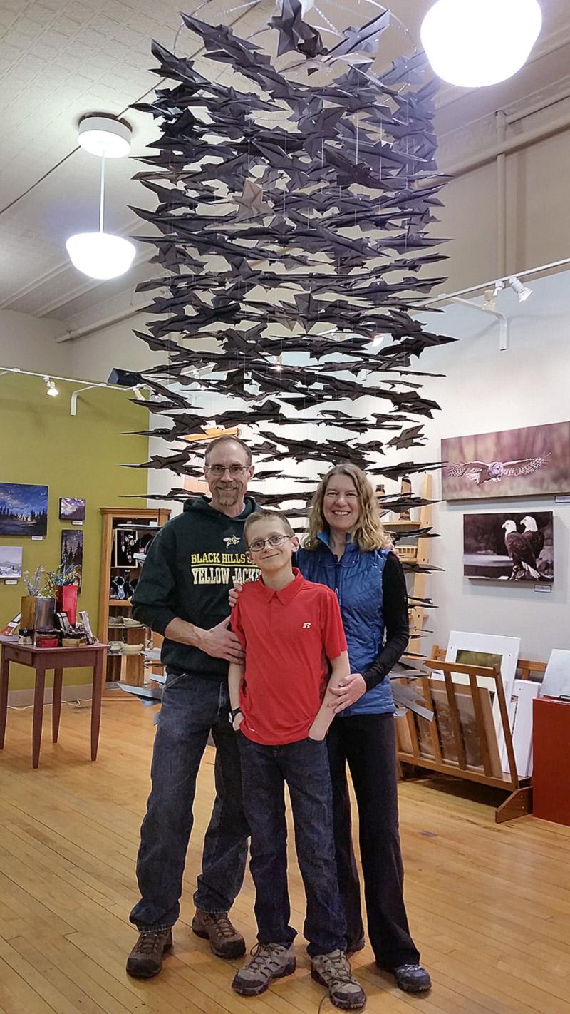 Artist & Parents: Reed Fossum, Justin Fossum, Lana Fischer