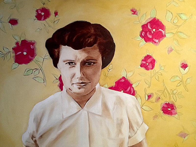"""1954"" by Anna Burbank"