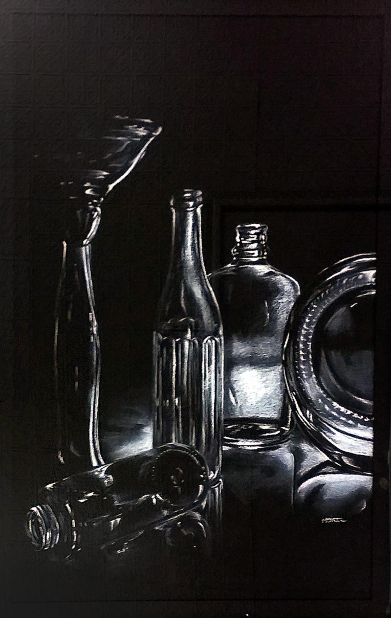 "First - High School: Vivian Steckline, ""Fragile Reflections."""