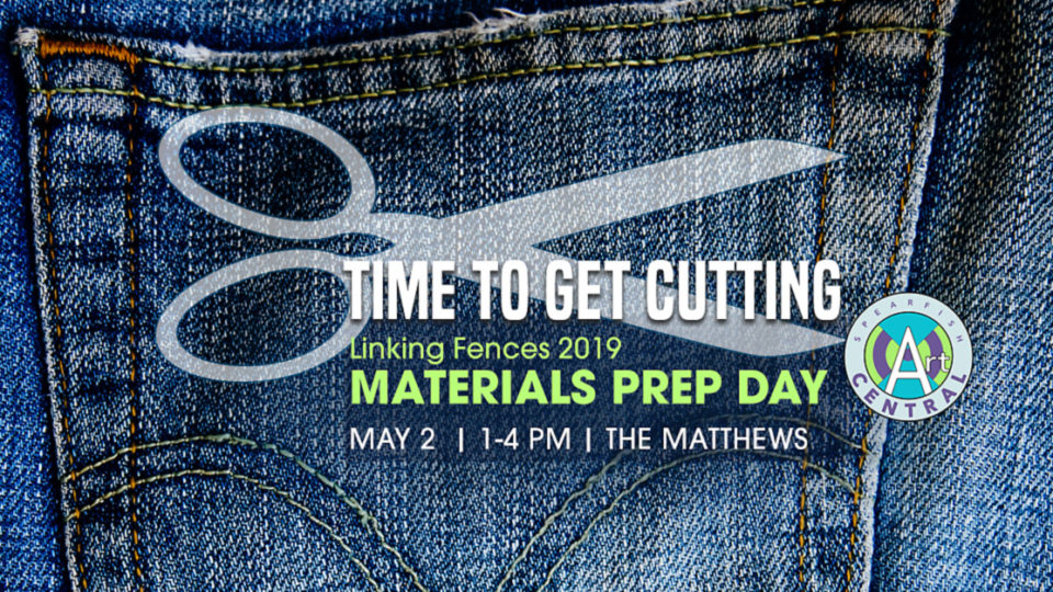 RESCHEDULED: Linking Fences denim cutting day