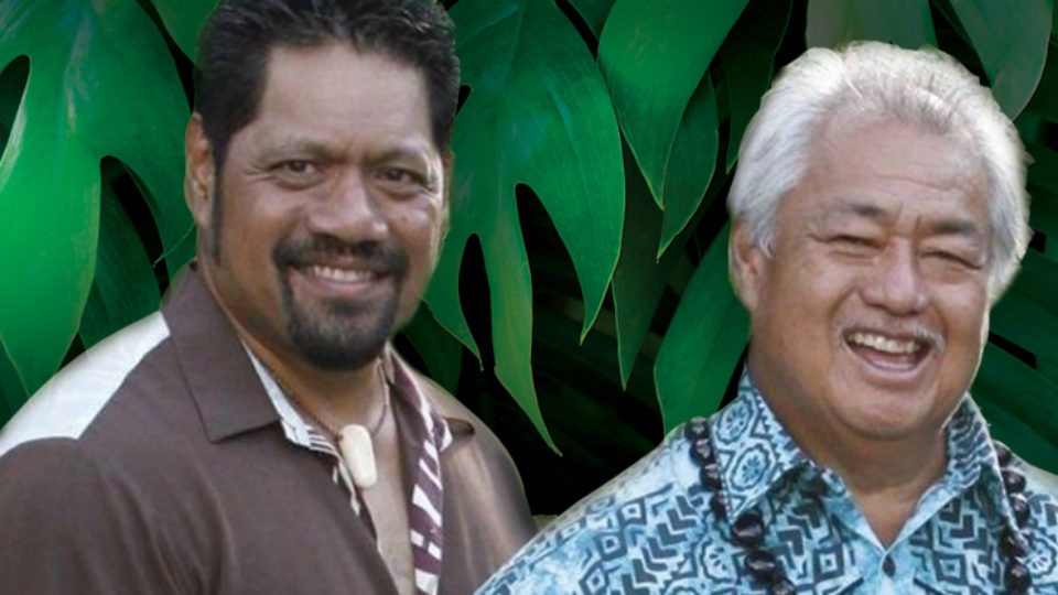 Masters of Hawaiian Music: George Kahumoko Jr. and Nathan Aweau Perform at the Matthews March 6