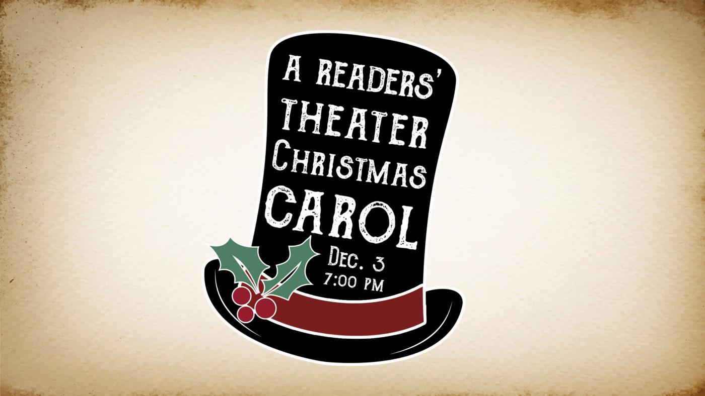 "The Matthews presents ""A Readers' Theater Christmas Carol"""