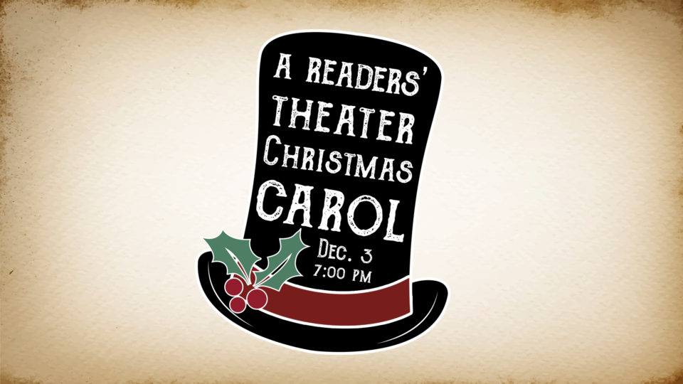 "The Matthews presents ""A Readers' Theater Christmas Carol"""
