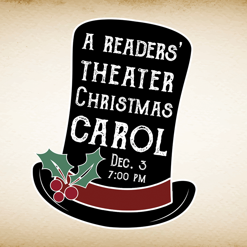 December 3: A Readers' Theater Christmas Carol