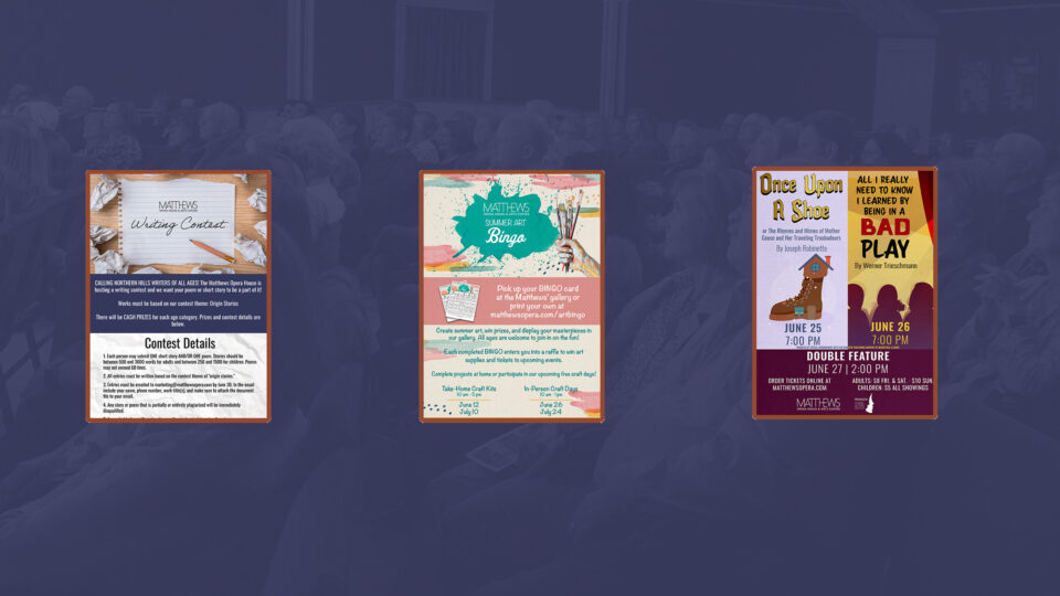 June Events at the Matthews